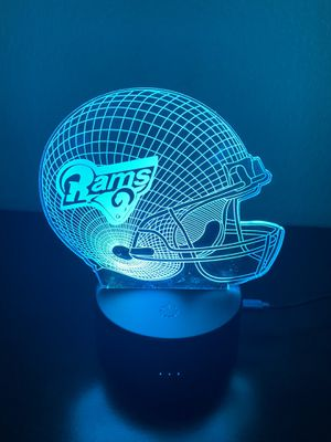 Cool Rams football 🏈 3D lamp for Sale in Las Vegas, NV
