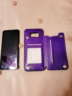 Samsung S8 plus phone and case for Sale in Chicago, IL
