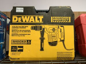 New Dewalt 12lb SDS Max Chipping Hammer. D25810K for Sale in Waltham, MA