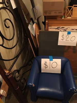 Bookshelf and chair for Sale in San Diego, CA