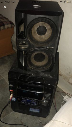 Sony receiver amp and one house speaker stereo set for Sale in Columbus, OH