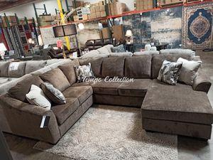New Sectional Sofa, Brown, SKU# ASH91102TC for Sale in Norwalk, CA