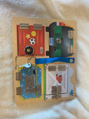 Melissa and doug lock board for Sale in Vancouver, WA