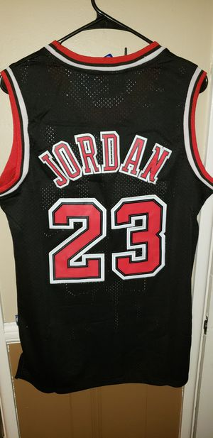 Men's Medium Michael Jordan Chicago Bulls Jersey New with Tags Stiched Nike $45. Ships +$3. Pick up in West Covina for Sale in West Covina, CA
