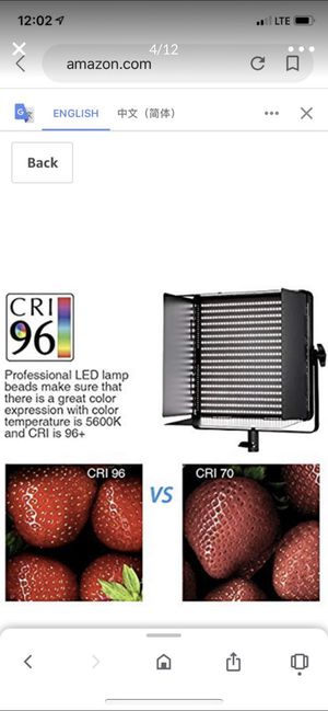 New digital led video light for Sale in Hacienda Heights, CA