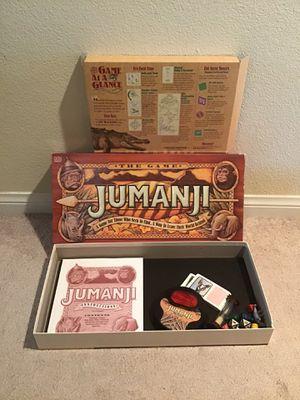 Vintage Jumanji board game original complete for Sale in Las Vegas, NV