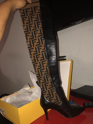 Knee High fendi boots size 9Womens $350 for Sale in Atlanta, GA