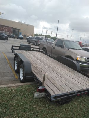 2017 Car hauler trailer 7X16 for Sale in Arlington, TX