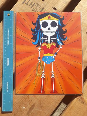 "Wonder Woman Day of the Dead 8""x10"" Print for Sale in Los Angeles, CA"