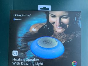 Floating Bluetooth speaker with changing LED light for Sale in Bellevue, WA