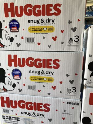 Huggies size 3 Price Firm for Sale in Garland, TX