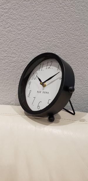 Rae Dunn Farmhouse cute Clock home decoration NEW Needs 1 battery. for Sale in Ontario, CA