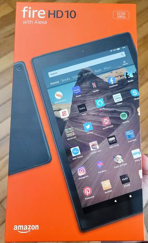 """Amazon Fire HD 10 10.1"""" Android Tablet - New/Sealed for Sale in Middletown, CT"""