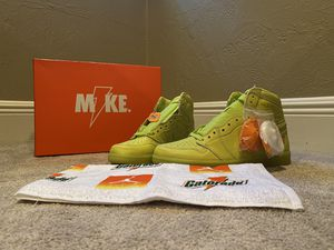Jordan 1 Retro High Gatorade Cyber for Sale in Miami, FL