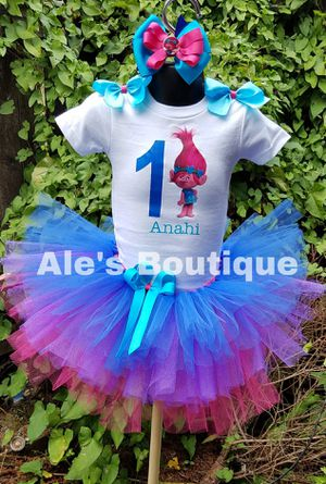 Trolls tutu outfit for Sale in South Hill, WA