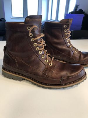 Timberland Earthkeeper Men's Leather Boots for Sale in Arlington, VA