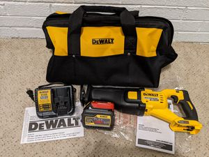 Brand New Dewalt 60V Reciprocating Saw DSC388 with Battery, Charger, and Bag for Sale in Bethesda, MD