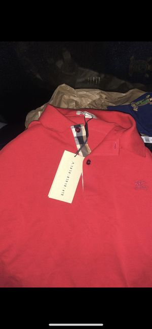 Burberry polos new for Sale in Chicago, IL