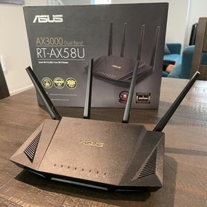Asus AX3000 RT-AX58U Router for Sale in Los Angeles, CA