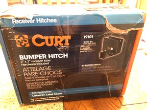 Curt brand RV Bumper Hitch for Sale in Roseau, MN