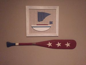 Sailboat and paddle decor for Sale in Phoenix, AZ