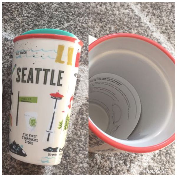 Been there series Starbucks Seattle cup (brand new/ $15)