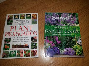 2 Botanical books = $20 for Sale in Los Angeles, CA