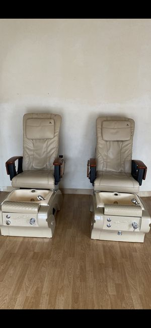 4 spa chairs available!!! In great condition for Sale in Pleasant Hill, CA