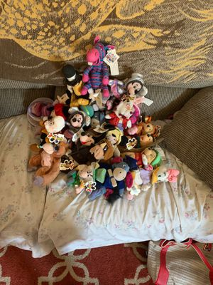 1990s Disney beanie Babys for Sale in Lake Elsinore, CA