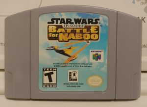 Star Wars Episode 1 Battle for Naboo for Nintendo 64 for Sale for sale  Bronx, NY