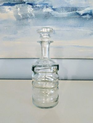 Glass container, carafe with top, liquor for Sale in Gulf Stream, FL