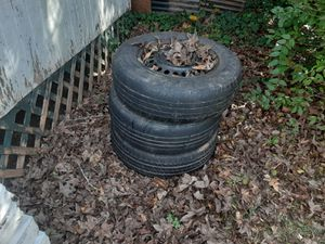 2 14' , 1 15' Spare / Trailer / Small Car Tires for Sale in Charlotte, NC