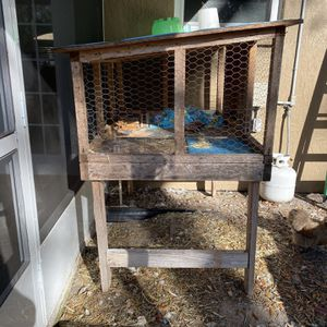 Outside Rabbit Cage for Sale in Spring Hill, FL