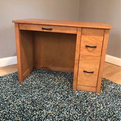 Kids desk solid Maple for Sale in Trenton,  NJ