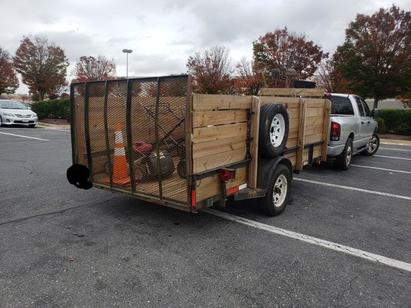 Trailer for sale 12×6.4