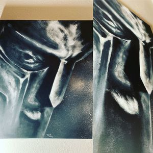 MF DOOM painting for Sale in Salt Lake City, UT