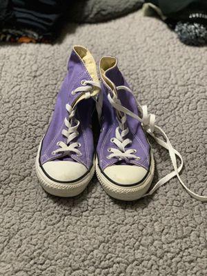 Purple converse for Sale in Nolensville, TN