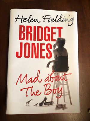 "Bridget Jones ""mad about the boy"" by Helen Fielding American First Edition hardcover book novel new for Sale in Dallas, TX"