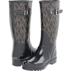 Michael Kors tall logo rubber rain boots for Sale in Lutz, FL