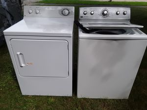 MAYTAG washer and GE gas dryer(used) for Sale in Elyria, OH