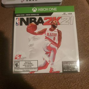 NBA2k21 Brand New, Open But Never Used for Sale in Marysville, WA
