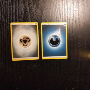 2 Pokemon Energy Cards (Steel & Dark) for Sale in Franklin, IN