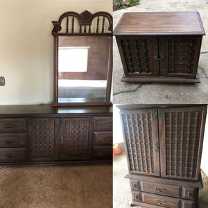 Matching Chest, Dresser, & Nightstand! for Sale in Rancho Cucamonga, CA