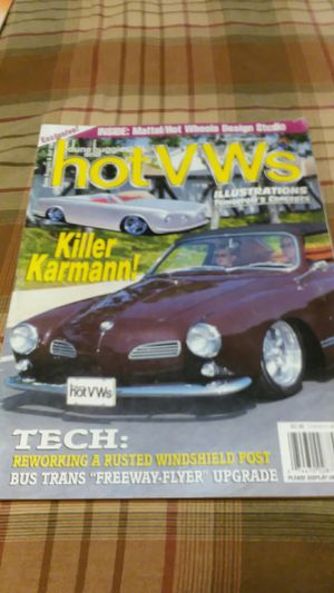Hot vw magazine Sep 2001 for Sale in Napa, CA