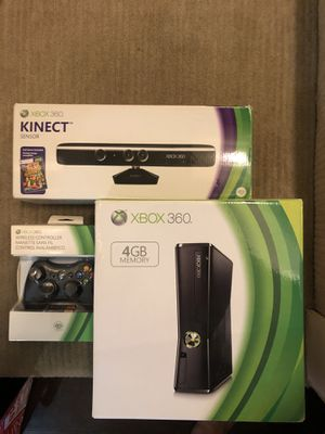 Xbox 360, Kinect, controller and games for Sale in Los Angeles, CA