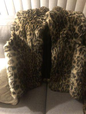 Large faux fur vest for Sale in Mission Viejo, CA