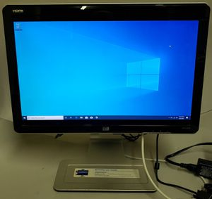 hp 22-inch Monitor (VGA, HDMI, swivel) for Sale in Leander, TX