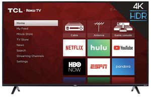 "Brand new 50"" TCL S425 4K ROKU Smart UHD TV for Sale in Miami, FL"