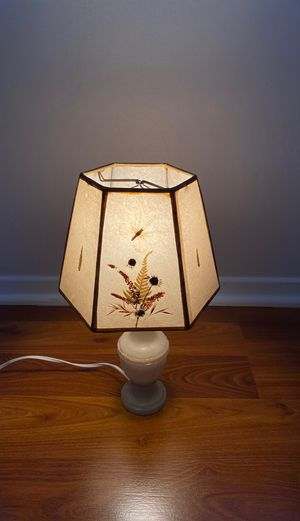 Vintage Lamp and Shade for Sale in San Diego, CA