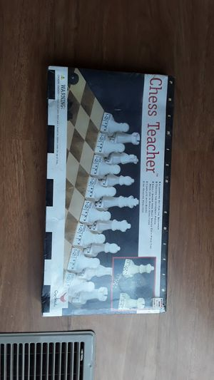 Chess teacher board game sealed in box for Sale in Orland Park, IL